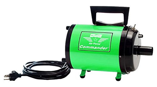 Metro 17-155-2G Air Force Commander Variable Speed AFTD-3V Dryer, Green