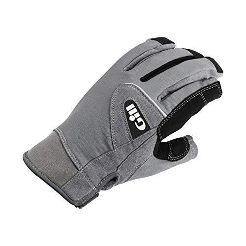 Deckhand Gloves - Gill Long Finger Deckhand Grey Gloves, X-Large