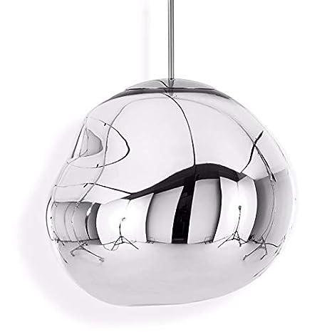 Tom Dixon - Lámpara de Techo - Melt - Plata Cromo - Diámetro ...