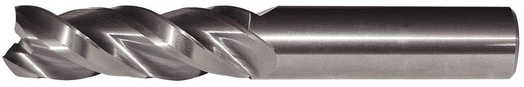 RH Cut WIDIA Hanita 5A0316006 AluSurf 5A03 HP Aluminum End Mill 0.625 Cutting Dia 0.625 Shank Dia Uncoated 3-Flute Carbide
