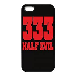 iPhone 4 4s Phone Cover Black 333 Hald Evil Devil EUA15971555 Phone Active Custom