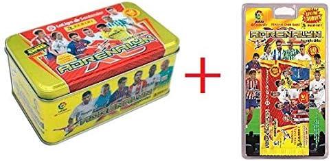 Adrenalyn XL Tin Box (Caja Metálica) 2018/19 + 1 Blister con 7 Sobres Adrenalyn 2018-2019: Amazon.es: Juguetes y juegos