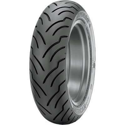 200/55R-17 (78V) Dunlop American Elite Rear Motorcycle Tire Black Wall for Harley-Davidson Softail Springer FXSTS 2006-2008