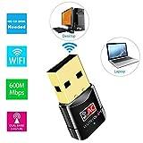 USBNOVEL USB WiFi Adapter-Dual Band 2.4G/5G WiFi