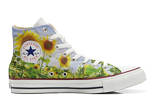 Converse All Star chaussures coutume mixte adulte (produit artisanal) Girasole