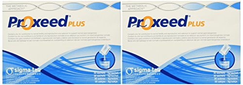 2 Boxes of ProXeed Plus - A Men's Dietary Fertility Supplement (30 packets each)