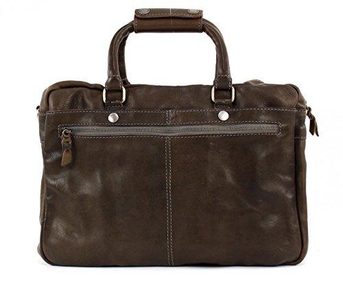 Cowboys  Tasche, Cabas pour femme Farbe: Graubraun - Maße: 39x 28x11 cm.