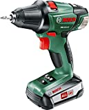 Bosch Cordless Drill Driver PSR 18 LI-2 (Without Battery, 18 Volt System, in Box)