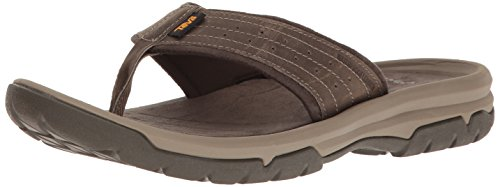 (Teva Men's M Langdon Flip Sandal Walnut 11 M US)