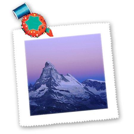 qs_82655_2 Danita Delimont - Mountains - Matterhorn, Mountains, Swiss Alps, Switzerland - EU29 RNU0034 - Rolf Nussbaumer - Quilt Squares - 6x6 inch quilt square