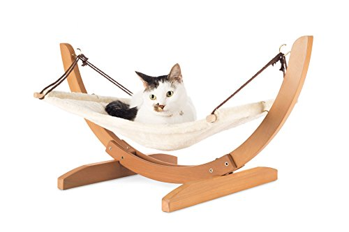 sale luxury cat hammock  u2013 large soft plush bed  24x16in   fortably      rh   purrfectgifts online