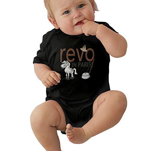 Walk Off The Earth REVO Baby Unisex Music Baby Underwear Short Sleeve12M Black