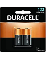 Duracell – 123 3V Ultra Lithium Photo Size Battery – long lasting battery – 2 count