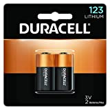 Duracell - 123 High Power Lithium Batteries - 2 Count