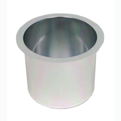 Trademark Poker Jumbo Aluminum Poker Table Cup Holder (Silver)