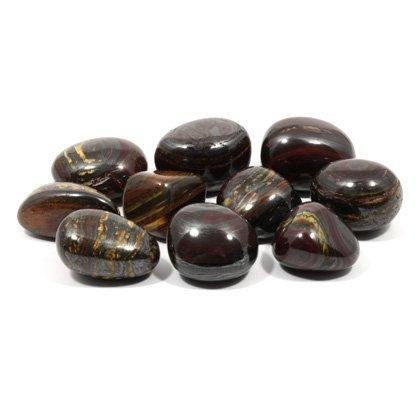 CrystalAge Tiger Iron Tumble Stone (20-25mm) - Single Stone