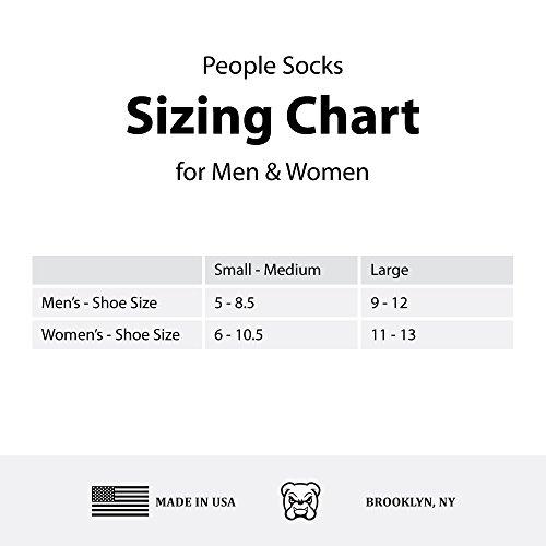 People Socks Unisex Merino Wool Antimicrobial Crew Socks, 4 Pairs