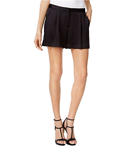Bermuda Kors Michael (Michael Kors Womens Pleated Tuxedo Casual Bermuda Shorts Black 2)