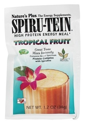 Nature's Plus - Spiru-Tein High Protein Energy Meal Tropi...