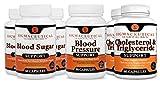 Metabolic Syndrome Supplements - Blood Pressure, Cholesterol Lowering & Blood Sugar – 6 Month Bundle
