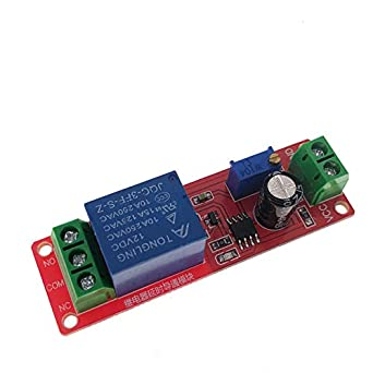 Durable NE555 DC 12V Delay Relay shield Timer Switch Adjustable Module US