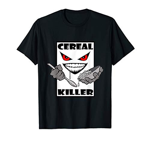 Cereal Killer Milk and Spoon T-Shirt
