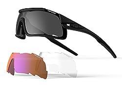 Tifosi Davos Matte Sunglasses, Black
