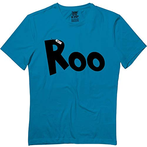 Kangaroo Cute Halloween Matching Family Group Team Blue T-Shirt ()