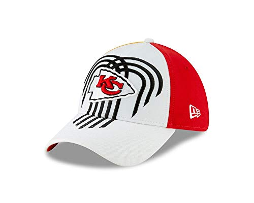 - New Era Kansas City Chiefs 2019 NFL Draft On-Stage Official 39THIRTY Flex Hat (M/L)