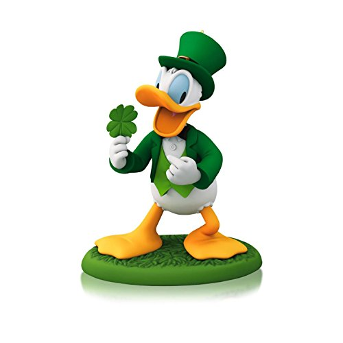 1 X A Year Of Disney Magic - Lucky Donald - 2014 Hallmark Keepsake (Donald Duck Ornament)