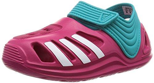 adidas Kinder Badelatschen Zsandal Sandale rosa