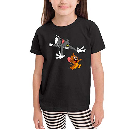 Girl Short-Sleeve T-Shirts Tom-&-Jerry 5T/6T