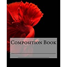 Composition Book: Siamese Fighting Fish