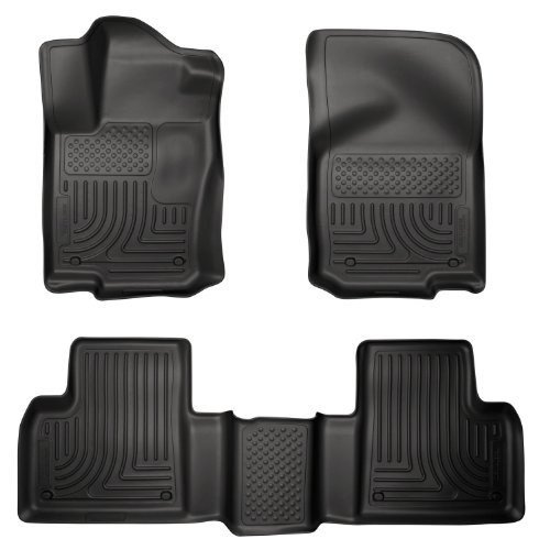 Husky Liners 98981 WeatherBeater Combination Front & Back Seat Floor Liners - (3 PCS) Mercedes Benz M-Class 2012-2012