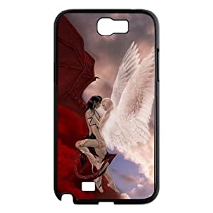 case Of Angel Customized Bumper Plastic Hard Case For Samsung Galaxy Note 2 N7100