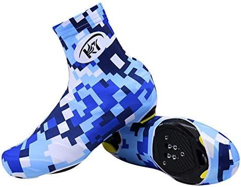 シューズカバー 自転車用靴の風と防水アウトドアスポーツ自転車サイクリングシューズマウンテンバイクシューズ 防風性と防水性 (Color : KDT2, Size : XL)