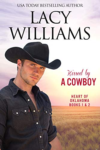 Kissed by a Cowboy 1 & 2: Sweet Cowboy Romance (Redbud Trails) by [Williams, Lacy]