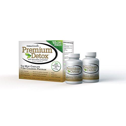 2Pack! Herbal Clean Premium Detox 7 Day Kit - 1 Kit