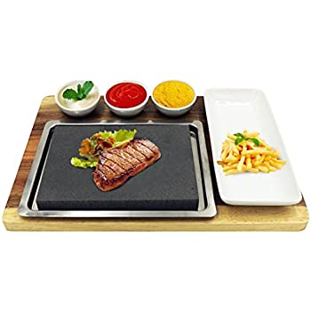 Amazon Com Zelancio Premium Lava Hot Stone Cooking
