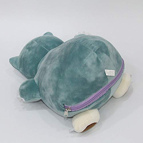 Muñeco de Peluche 30cm Ditto Metamon Snorlax Inside-out ...