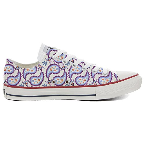 Converse All Star zapatos personalizados (Producto Artesano) Decorative Paisley