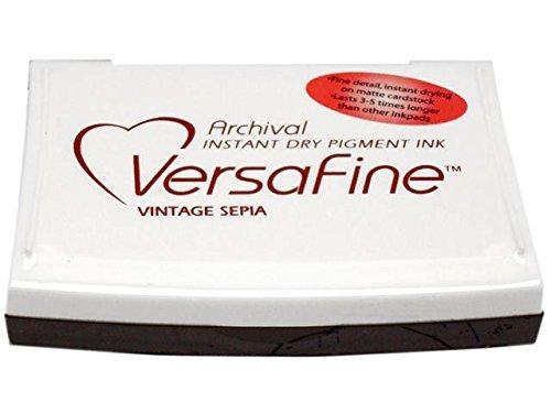 VersaFine Pigment Inkpad-Vintage Sepia