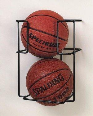 Basketball Butler 2 Ball Storage Rack S/&S Worldwide