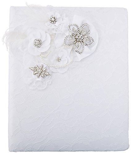 Ivy Lane Design Genevieve Memory Book, White