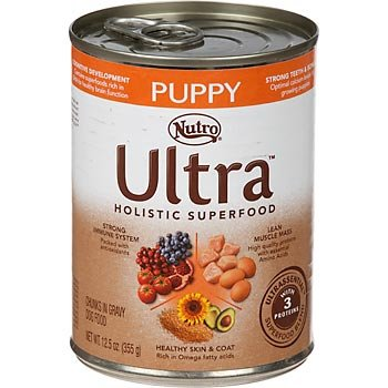 Nutro Ultra Puppy Chunks in Gravy Canned Dog Food, My Pet Supplies