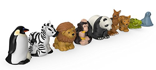 41UJtgU640L - Fisher-Price Little People Zoo Animal Friends