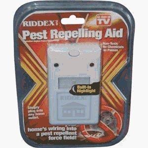 Riddex Plus Hd00010 No-poison Pest Repelling Aid ()