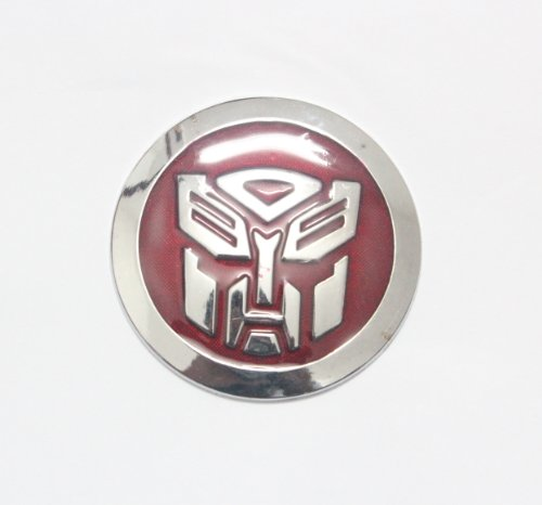 Car 3d Logo transformers autobot Chrome Emblem Badge Sticker Self Adhesive Badge Decal Superhero - Autobot Car Badge