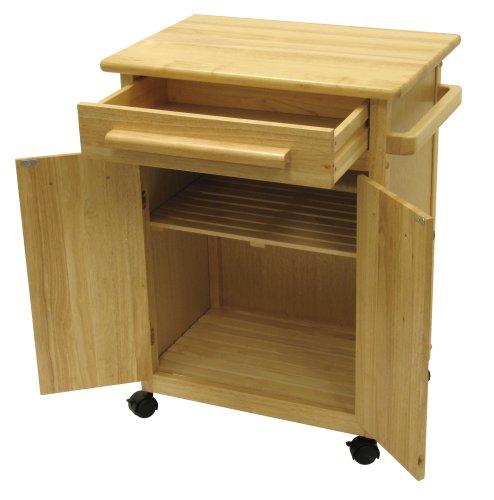 Kitchen Microwave Cart Oven Storage