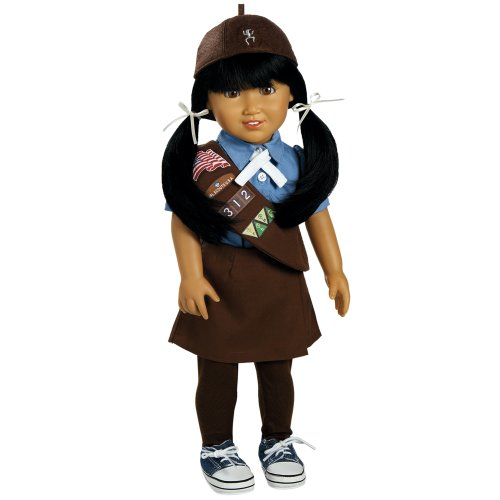 "Adora Jasmine Girl Scout Brownie 18"" Doll"
